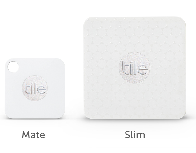 Tile Mate and Tile Slim