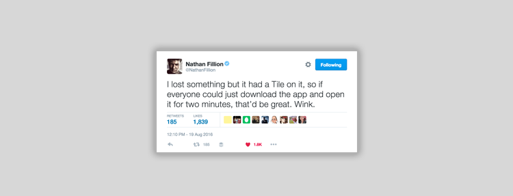 Nathan Fillion Tile App