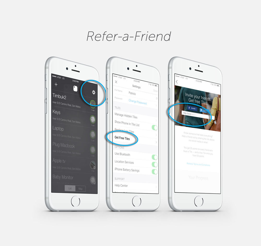 Tile Referral Program