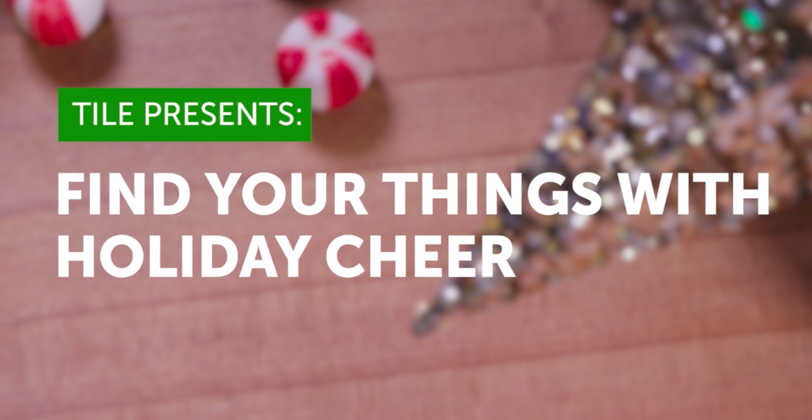 Find your things with holiday cheer