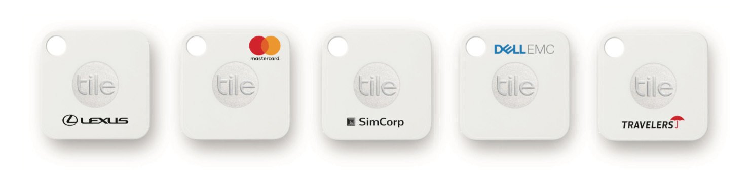 Tile Mate with company logos